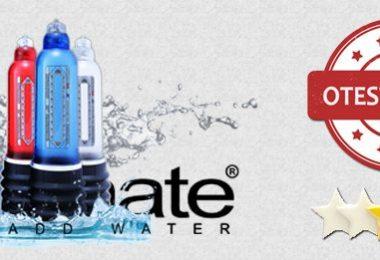 Bathmate recenze: unikátní vodní vakuová pumpa pro zvětšení penisu