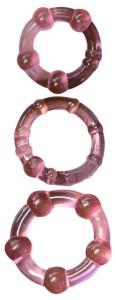 Erekční kroužky Elephant Ring 3x