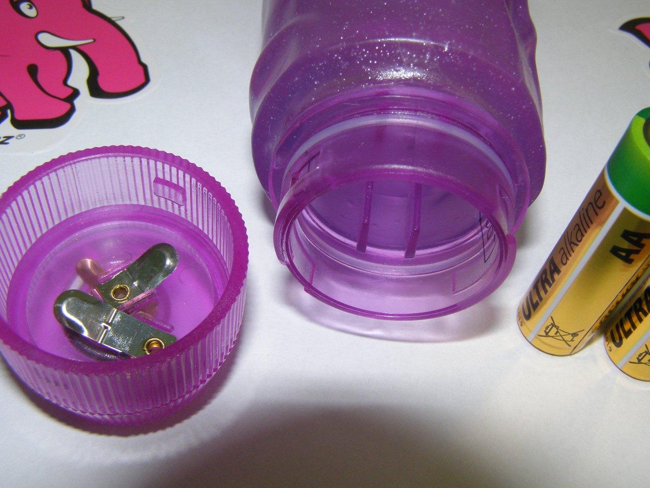 Gelový vibrátor fialový-1