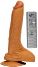 Vibrátor Natural s přísavkou 20 cm
