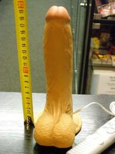 Vibrátor Natural s přísavkou 20 cm -1