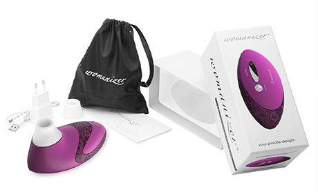 Womanizer Pro magenta - Celé balení